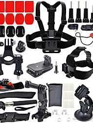 cheap -Sports Action Camera Chest Harness Front Mounting Anti-Fog Insert Clip Screw Hand Straps Tripod Mount / Holder Multi-function Foldable