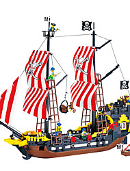cheap -ENLIGHTEN Building Blocks / Model Building Kit Pirate Ship / Black Pearl / Pirates Gift