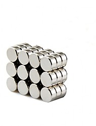 cheap -8x3mm Round Cylinder Magnets Deep DIY personalized Multi-Use for Fridge door Whiteboard Magnetic map Magnetic Screen Door Bulletin boards Refrigerator