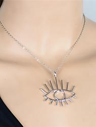 cheap -Women's Evil Eye Personalized Unique Design Dangling Style Pendant Vintage Fashion Euramerican Pendant Necklace Jewelry Alloy Pendant
