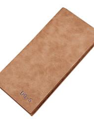 Недорогие -Муж. Мешки Полиуретан Полиэстер В одно сложение Бумажники для Для шоппинга Повседневные Официальные Офис и карьера на открытом воздухе
