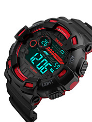 cheap -SKMEI® 1243 Men's Woman Watch Double Significant Outdoor Sports Watch Mountain Climbing Waterproof Electronic Watch Male LCD Students Multi-Function