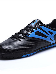 Men's Shoes PU Spring Fall Comfort Athletic Shoes Soccer Shoes Split Joint For Casual Black Orange Light Green
