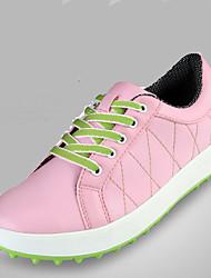 Недорогие -Жен. Повседневная обувь Альпинистские ботинки Обувь для игры в гольф Пешеходный туризм Спорт в свободное время Дышащий Противозаносный Anti-Shake Естественно-зеленный Розовый / Амортизация