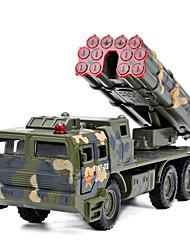 Недорогие -Ракетный грузовик Игрушечные грузовики и строительная техника Игрушечные машинки Машинки с инерционным механизмом 1: 100 пластик