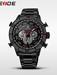WEIDE Men's Sport Watch Fashion Watch Digital Watch Wrist watch Quartz DigitalCalendar Water Resistant / Water Proof Dual Time Zones Band Material