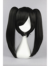 cheap -Kagerou Project-Actor Black Anime 18inch Cosplay Ponytails Wig CS-167D