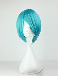 cheap -Capless 30cm Short Straight Man High Quality Synthetic Wig Style  Male Cosplay Wigs 4 Colors
