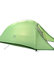 cheap -Naturehike 1 person Tent Double Camping Tent One Room Fold Tent Portable Rain-Proof Foldable 4 Season for Camping Outdoor Silicone CM