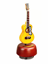 cheap -Music Box Musical Instruments Guitar Classic Rotating Kid's Adults Kids Adults' Gift Unisex