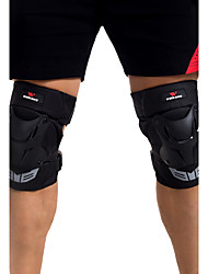 cheap -Unisex Knee Brace for Skiing Skating Cross-Country Motorcycle Skateboarding Shock Proof Wearproof 1 Pair Sports Outdoor PE