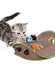 cheap -Cat Toy Pet Toys Interactive Mouse Toy Scratch Pad Durable Fabric Plastic For Pets