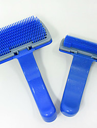 cheap -Cat Dog Grooming Health Care Cleaning Brush Grooming Kits Comb Baths Waterproof Portable Low Noise Blue