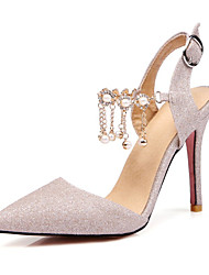 Da donna-Tacchi-Matrimonio Ufficio e lavoro Formale Casual Serata e festa-Comoda Innovativo Club Shoes-A stiletto-Lustrini Materiali