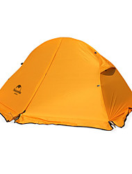 Naturehike 1 person Tent Double Camping Tent One Room Fold Tent Keep Warm Rain-Proof Foldable for Camping Nylon Silicone CM