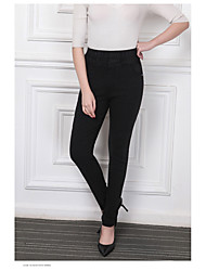 cheap -Women's High Rise Stretchy Slim Jeans Pants,Casual Solid Spring, Fall, Winter, Summer
