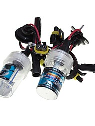 cheap -Sencart  Car HID Xenon Lights Bulbs Lamps H1 / H3 / H7 / H8 / H9 / H11/ 9005 4300K 6000K 8000K diamond white 55W