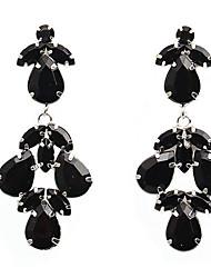 Dråbeøreringe Mode Harpiks Legering Geometrisk form Smykker For Bryllup 1 par