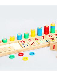 cheap -Montessori Teaching Tool Building Blocks Math Toy Square Education Kid's Toy Gift