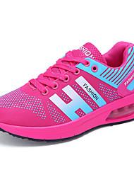 Недорогие --Для женщин-Для прогулок Повседневный Для занятий спортом-Тюль-На плоской подошве-Удобная обувь Туфли Мери-Джейн-Спортивная обувь