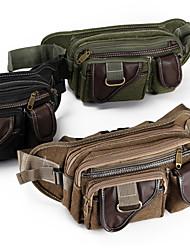 Недорогие -10 L Поясные сумки Многофункциональный Дышащий Дожденепроницаемый Защита от пыли На открытом воздухе Отдых и Туризм Восхождение Спорт в свободное время Коричневый Зеленый Черный