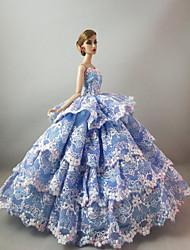 Недорогие -Вечеринка Платья Для Кукла Барби Для Девичий игрушки куклы