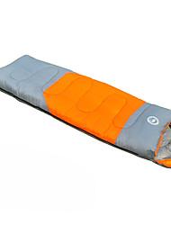 Недорогие -Спальный мешок Прямоугольный Односпальный комплект (Ш 150 x Д 200 см) -3-8 Пористый хлопокX75 Пешеходный туризм Походы Путешествия