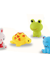 abordables -Juguete de Baño Juguetes Rabbit Rana Oso Piezas Niños Regalo