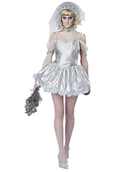 Ghost Cosplay Cosplay Costumes Female Halloween Carnival Festival/Holiday Halloween Costumes Fashion