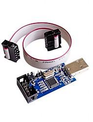 cheap -5V / 3.3V USBASP Programmer Adapter w 10 Pin Cable ATMEGA8 ATMEGA128