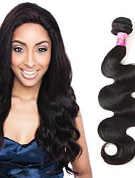 Недорогие -1 комплект Перуанские волосы Естественные кудри Натуральные волосы Человека ткет Волосы Ткет человеческих волос Расширения человеческих волос