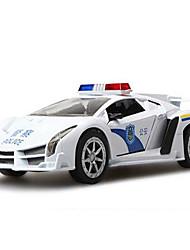 Macchine giocattolo Giocattoli Ruspa Auto della polizia Ambulanza Giocattoli Quadrato Lega di metallo Pezzi Regalo