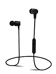 cheap -In Ear Wireless Headphones Plastic Sport & Fitness Earphone with Volume Control with Microphone Headset