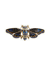 cheap -Women's Brooches Jewelry Animal Design Fashion Vintage Euramerican Rhinestone Enamel Alloy Animal Shape Jewelry For Wedding Party Special