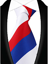 13 Kinds Men Casual Polyester Party Neck Tie Necktie