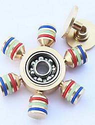 Spinners de mão Mão Spinner Brinquedos Seis Spinner Metal EDC Brinquedo foco Alivia ADD, ADHD, Ansiedade, Autismo O stress e ansiedade