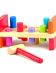 cheap -Hammering / Pounding Toy Building Blocks Baby & Toddler Toy Educational Toy Toys Cylindrical Wood Children's Pieces