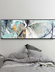 cheap -Rolled Canvas Prints Abstract Modern, One Panel Horizontal Print Wall Decor Home Decoration