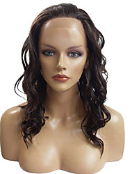 cheap -Synthetic Lace Front Wig Deep Wave Black Women's Lace Front Natural Wigs Long Synthetic Hair