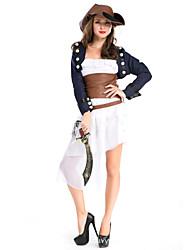 Pirate Costumes de Cosplay Féminin Halloween Carnaval Fête / Célébration Déguisement d'Halloween Mode