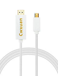 Недорогие -Cwxuan® mini displayport dp для hdmi 1080p hdtv адаптерный кабель для MacBook