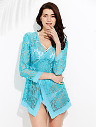 cheap -Women's Cover-Up - Solid Colored Lace