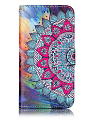 cheap -For Huawei P10 Lite P8 Lite (2017) PU Leather Material Half Flower Pattern Relief Phone Case P10 Plus P10 P9 Lite P8 Lite