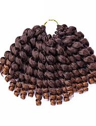 cheap -Curly Crochet Jamaican Bounce Hair Ombre Braiding Hair 1pc/pack Twist Braids Hair Braid