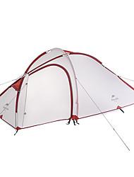 Naturehike 3-4 Pessoas Tenda Duplo Barraca de acampamento Um Quarto Tenda Dobrada Portátil Á Prova-de-Chuva Dobrável para Campismo