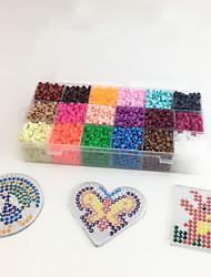 Kit de Bricolage Jouet Educatif Puzzle Art & Dessin Jouets Carré Circulaire Forme de Coeur EVA Pièces Non spécifié Enfant Cadeau