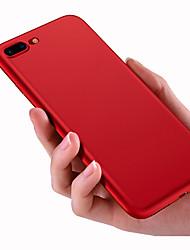 economico -Per iPhone 8 iPhone 8 Plus Custodie cover Effetto ghiaccio Custodia posteriore Custodia Tinta unica Morbido Silicone per Apple iPhone 8