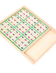 Недорогие -Настольные игры Игрушки для обучения математике Игрушки Квадратный Дерево Куски Универсальные Подарок