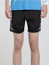 Per uomo Pantaloncini da corsa per Esercizi di fitness Pallacanestro Corsa Cotone Taglia piccola Nero S M L XL XXL