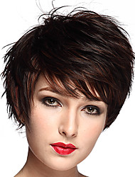 cheap -Short BOB Natural Curly Synthetic Fiber Wig Wig for Women Costume Wig Cosplay Wigs